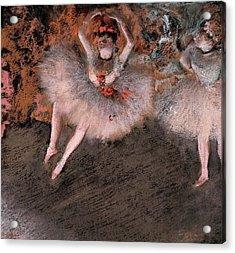 The Pas Battu Acrylic Print by Edgar Degas