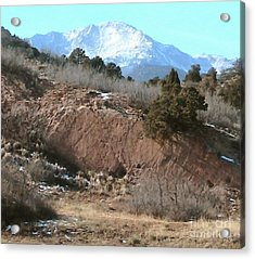 The Peak Acrylic Print by Cristophers Dream Artistry
