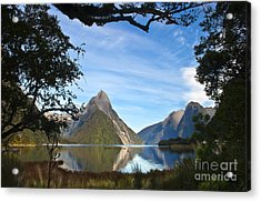 The Peak Acrylic Print by Roberto Bettacchi