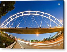 The Pedestrian Bridge Acrylic Print