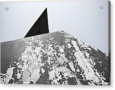 The Peeling Pyramids Acrylic Print by L E Jimenez