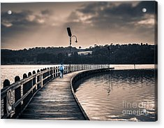 The Peir Acrylic Print by James  Dierker