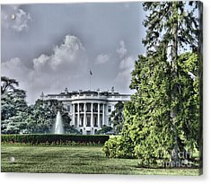The People's House Acrylic Print by Arthur Herold Jr
