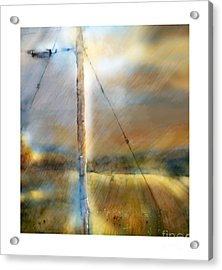 The Perfect Storm Acrylic Print by Bob Salo