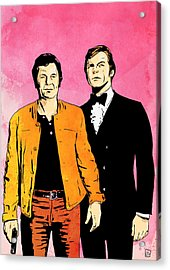 The Persuaders Acrylic Print by Giuseppe Cristiano