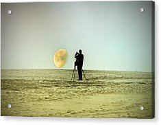 The Photographer Acrylic Print by Bill Cannon