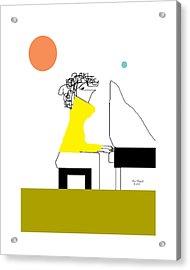 The Pianist Acrylic Print