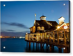 The Pier Cafe Acrylic Print