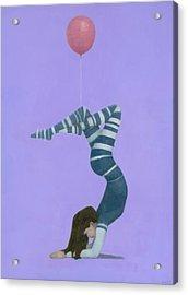 The Pink Balloon II Acrylic Print