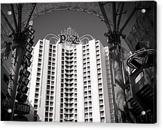 The Plaza Las Vegas  Acrylic Print by Susan Stone