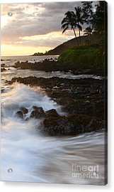 The Poets Love Song Acrylic Print by Sharon Mau
