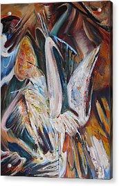 The Pompous Bird Acrylic Print by Stefano Popovski