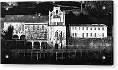 The Port Of Alcatraz Acrylic Print by Laszlo Rekasi