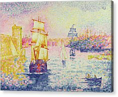 The Port Of Marseilles Acrylic Print