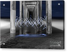 The Portal Acrylic Print by Sonny Marcyan