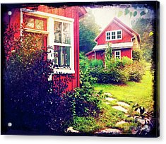 The Potting Shed Acrylic Print by Kevyn Bashore
