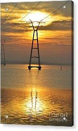 The Power Of Dawn Acrylic Print by Lynda Dawson-Youngclaus