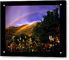 Acrylic Print featuring the photograph The Prayer Was Answered by Susanne Still