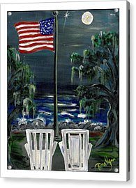 The Presidential Suite Acrylic Print by Doralynn Lowe