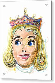 The Princess Acrylic Print by Russell Pierce