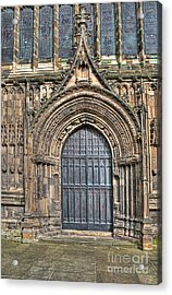 The Priory Church Of St Mary's Bridlington Acrylic Print