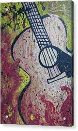 The Psalmist  Acrylic Print by Christie Lee