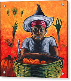 The Pumpkin Vendor  Acrylic Print