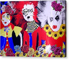 'the Punks 'come Out To Play Acrylic Print by Rc Rcd