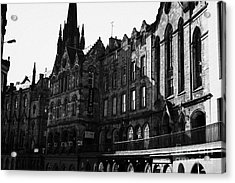 The Quaker Meeting House On Victoria Street Edinburgh Scotland Uk United Kingdom Acrylic Print by Joe Fox