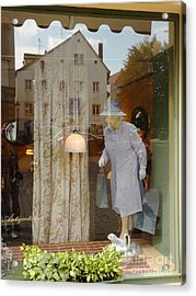 The Queen In A Showcase Acrylic Print