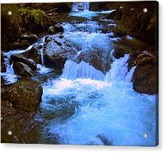 The Quintessential Falls Acrylic Print by HweeYen Ong