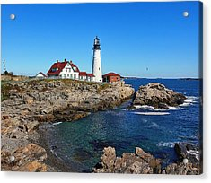 The Quintessential Maine Acrylic Print by Lanis Rossi