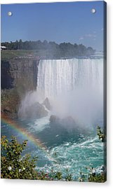 The Rainbow Acrylic Print by Colleen English