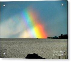 The Rainbow's Edge Acrylic Print