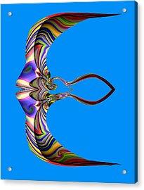 The Rare Mirror Fish Acrylic Print by Visual Artist  Frank Bonilla