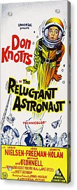 The Reluctant Astronaut, Upper Right Acrylic Print by Everett