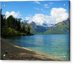 Acrylic Print featuring the photograph The Remarkables by Michele Penner