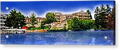The Resort Acrylic Print