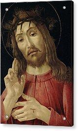 The Resurrected Christ Acrylic Print by Sandro Botticelli