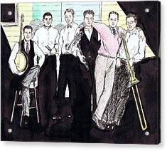 The Rhythm Jugglers Acrylic Print