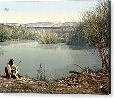 The River Jordan, Holy Land, Jordan Acrylic Print by Everett