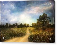 The Road That Leads To Home Acrylic Print