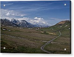 The Road To The Great One Acrylic Print by Wes and Dotty Weber