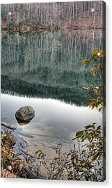 The Rock Acrylic Print by JC Findley