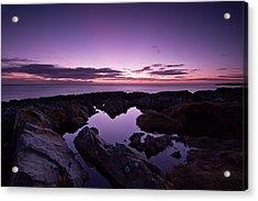The Rock Pool At Dawn Acrylic Print