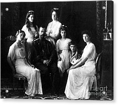 The Romanovs, Russian Tsar With Family Acrylic Print by Science Source