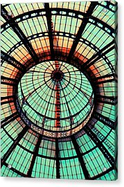 The Roof Acrylic Print by Andreia Gomes