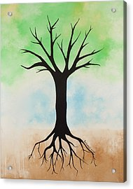 The Root Acrylic Print by Jodi Leigh