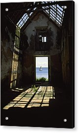 The Ruin Of A Slave Warehouse Dating Acrylic Print by James L. Stanfield