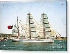 Acrylic Print featuring the photograph The Sagres by Verena Matthew